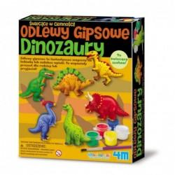 ODLEWY GIPSOWE - DINOZAURY