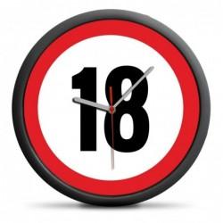 ZEGAR URODZINOWY 18 -...